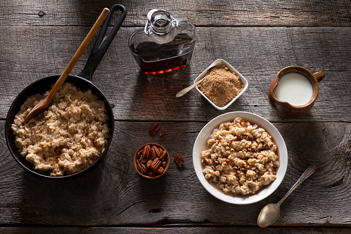 Oats - Food「Maple Brown Sugar Oatmeal」:スマホ壁紙(9)