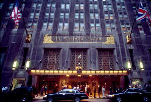 Waldorf Astoria New York「The Waldorf Astoria Hotel」:写真・画像(3)[壁紙.com]