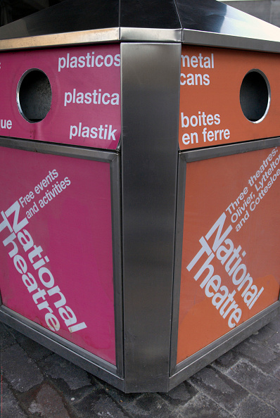 Recycling Bin「South Bank, London」:写真・画像(5)[壁紙.com]