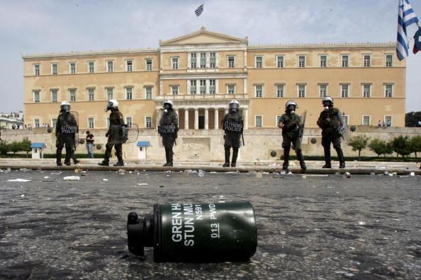 Economy「General Strike Paralyses Greece」:写真・画像(19)[壁紙.com]