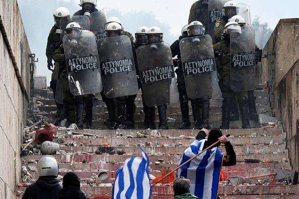 Athens - Greece「Greeks Protest The Macedonia Name-change」:写真・画像(7)[壁紙.com]