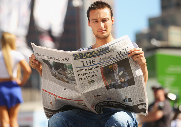 Paper「Fairfax Mastheads Switch From Broadsheet To Tabloid Size」:写真・画像(14)[壁紙.com]