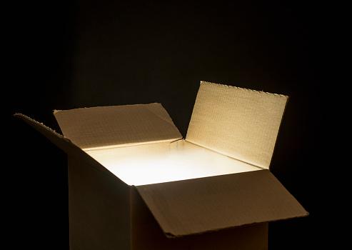 Mystery「Open cardboard box」:スマホ壁紙(3)