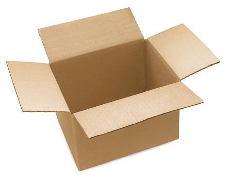 カラの箱「オープン段ボール箱」:スマホ壁紙(19)