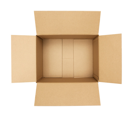 Packaging「Open Cardboard Box」:スマホ壁紙(16)