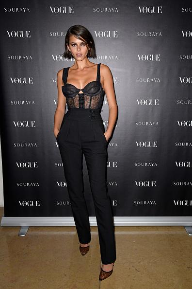 Sheer Fabric「Souraya x Vogue Arabia Dinner & Runway Show -  Paris Fashion Week Event」:写真・画像(6)[壁紙.com]