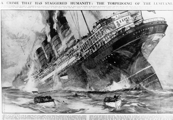 Ship「Sinking Lusitania」:写真・画像(9)[壁紙.com]