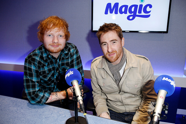 Magic Kingdom「Ed Sheeran and Jamie Lawson Visit Magic Radio」:写真・画像(16)[壁紙.com]