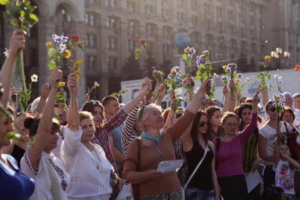 平穏「Ukraine Prepares For Forthcoming Presidential Elections」:写真・画像(6)[壁紙.com]
