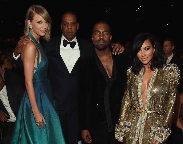 Kanye West - Musician「The 57th Annual GRAMMY Awards - Backstage & Audience」:写真・画像(14)[壁紙.com]