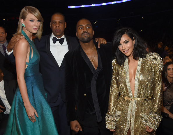 Kanye West - Musician「The 57th Annual GRAMMY Awards - Backstage & Audience」:写真・画像(5)[壁紙.com]