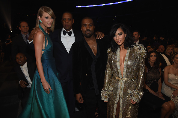 Kanye West - Musician「The 57th Annual GRAMMY Awards - Backstage & Audience」:写真・画像(15)[壁紙.com]