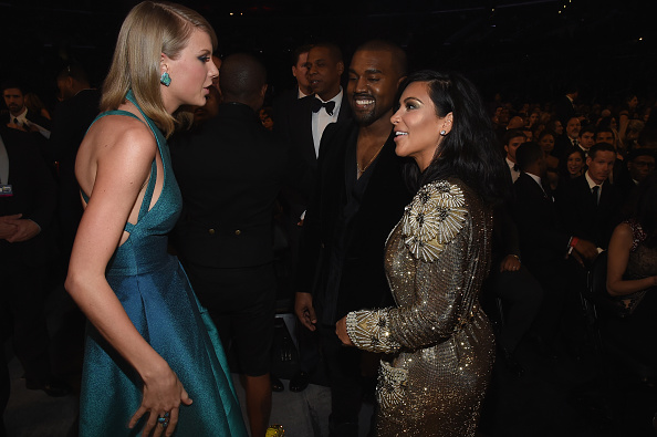 Kanye West - Musician「The 57th Annual GRAMMY Awards - Backstage & Audience」:写真・画像(2)[壁紙.com]
