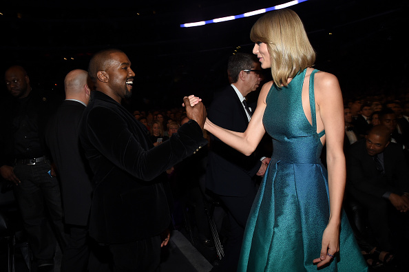 Kanye West - Musician「The 57th Annual GRAMMY Awards - Backstage & Audience」:写真・画像(12)[壁紙.com]