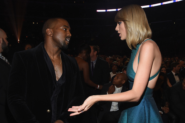 Kanye West - Musician「The 57th Annual GRAMMY Awards - Backstage & Audience」:写真・画像(8)[壁紙.com]