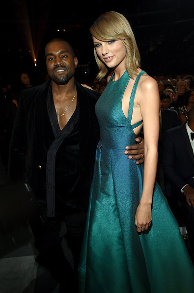 Kanye West - Musician「The 57th Annual GRAMMY Awards - Backstage & Audience」:写真・画像(7)[壁紙.com]