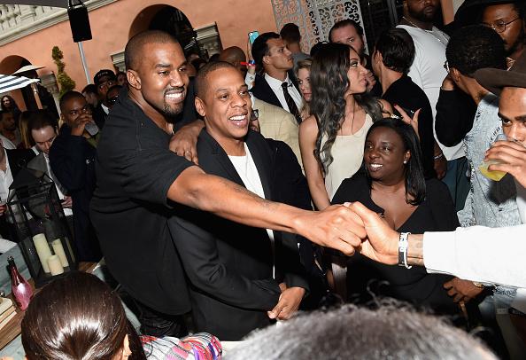 Kanye West - Musician「Roc Nation And Three Six Zero Pre-GRAMMY Brunch 2015 - Inside」:写真・画像(1)[壁紙.com]