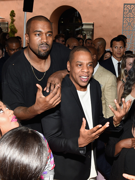Kanye West - Musician「Roc Nation And Three Six Zero Pre-GRAMMY Brunch 2015 - Inside」:写真・画像(15)[壁紙.com]