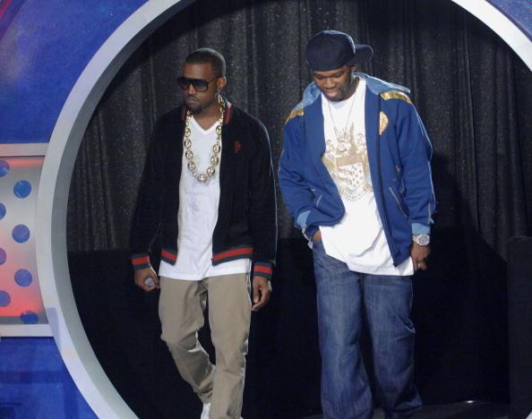 Kanye West - Musician「BET 106 & Park with Kanye West And 50 Cent」:写真・画像(4)[壁紙.com]