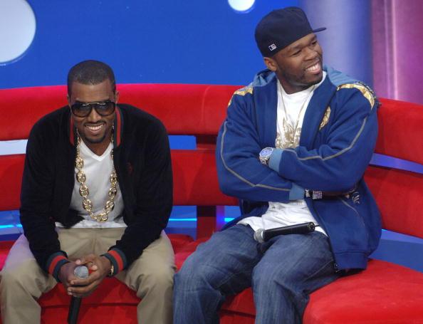 Kanye West - Musician「BET 106 & Park with Kanye West And 50 Cent」:写真・画像(14)[壁紙.com]