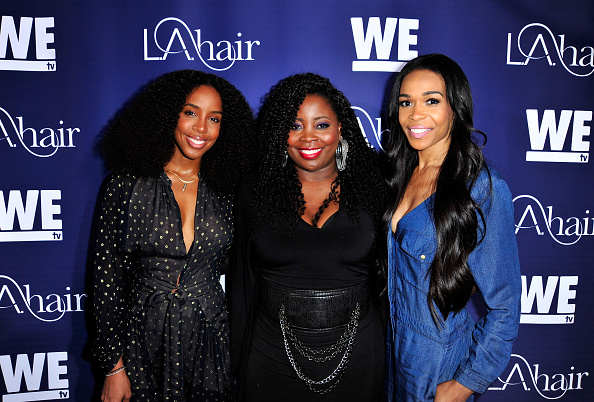Kelly public「WE tv's LA Hair Season 4 Premiere Party」:写真・画像(4)[壁紙.com]
