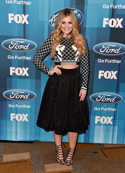 "Diamond Pattern「FOX's ""American Idol"" Finale For The Farewell Season - Arrivals」:写真・画像(9)[壁紙.com]"