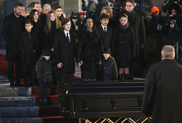 Husband「State Funeral Service for Celine Dion's Husband Rene Angelil」:写真・画像(12)[壁紙.com]