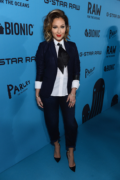 Adrienne Bailon「Pharrell Williams Curates Collaboration Between Bionic Yarn And G-Star Turning Ocean Plastic Into Denim」:写真・画像(3)[壁紙.com]