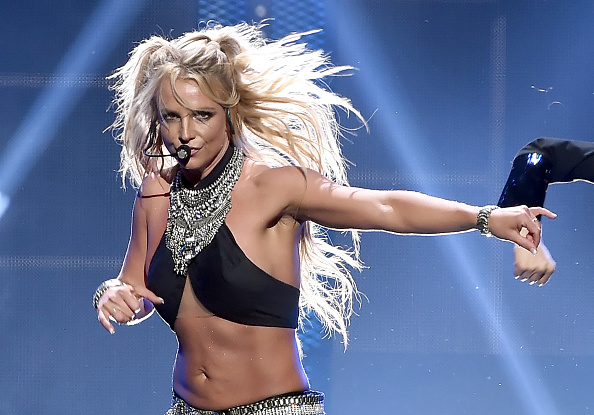 Britney Spears「2016 iHeartRadio Music Festival - Night 2 - Show」:写真・画像(4)[壁紙.com]