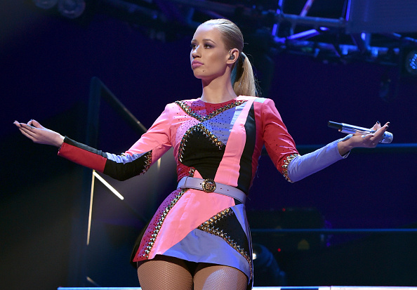 Iggy Azalea「2014 iHeartRadio Music Festival - Night 2 - Show」:写真・画像(8)[壁紙.com]