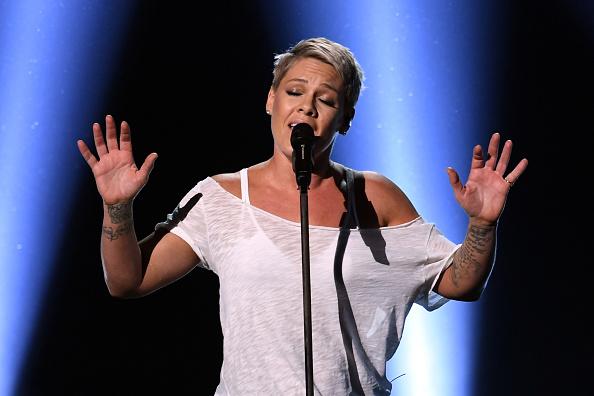 Pink - Singer「60th Annual GRAMMY Awards - Show」:写真・画像(11)[壁紙.com]