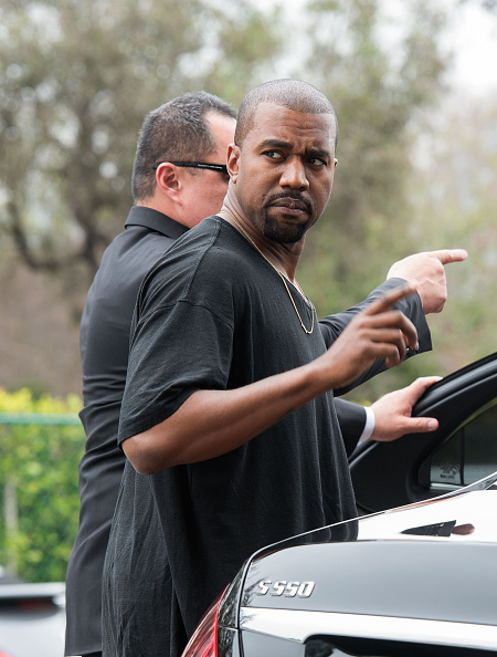 Kanye West - Musician「Roc Nation Pre-GRAMMY Brunch - Arrivals」:写真・画像(13)[壁紙.com]