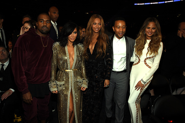 Kanye West - Musician「The 57th Annual GRAMMY Awards - Backstage」:写真・画像(8)[壁紙.com]
