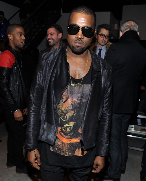 Kanye West - Musician「Band of Outsiders - Front Row & Backstage - Fall 2011 Mercedes-Benz Fashion Week」:写真・画像(16)[壁紙.com]
