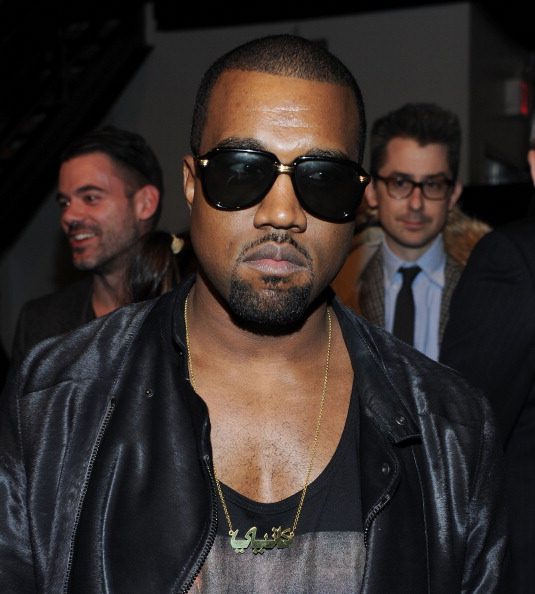 Kanye West - Musician「Band of Outsiders - Front Row & Backstage - Fall 2011 Mercedes-Benz Fashion Week」:写真・画像(9)[壁紙.com]