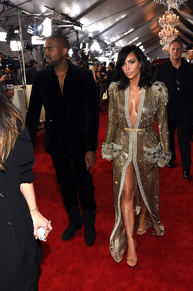 Kanye West - Musician「The 57th Annual GRAMMY Awards - Red Carpet」:写真・画像(7)[壁紙.com]