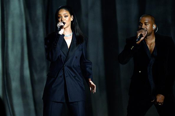 Kanye West - Musician「57th GRAMMY Awards - Show」:写真・画像(12)[壁紙.com]