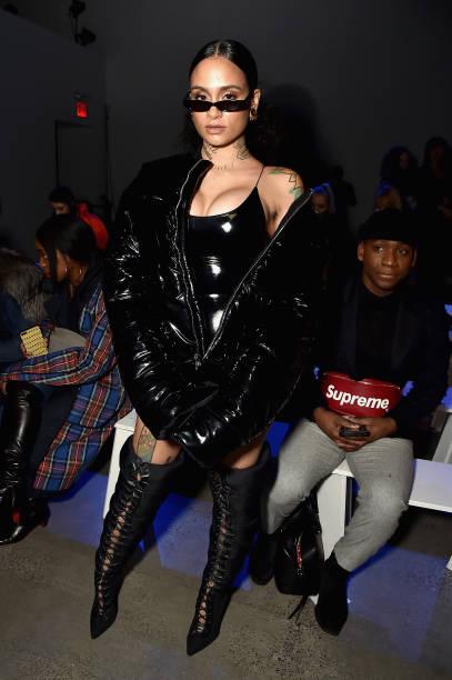 ニューヨークファッションウィーク「Laquan Smith - Front Row - February 2018 - New York Fashion Week: The Shows」:写真・画像(15)[壁紙.com]