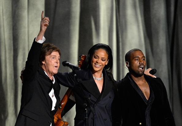 Kanye West - Musician「57th GRAMMY Awards - Show」:写真・画像(15)[壁紙.com]