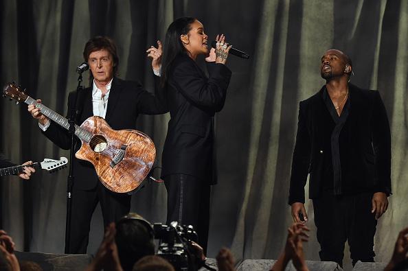Kanye West - Musician「The 57th Annual GRAMMY Awards - Telecast」:写真・画像(2)[壁紙.com]