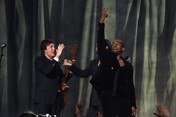 Kanye West - Musician「The 57th Annual GRAMMY Awards - Telecast」:写真・画像(18)[壁紙.com]