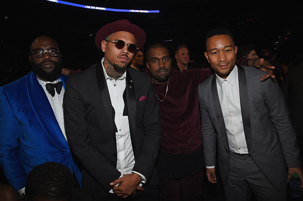 Kanye West - Musician「The 57th Annual GRAMMY Awards - Backstage & Audience」:写真・画像(13)[壁紙.com]