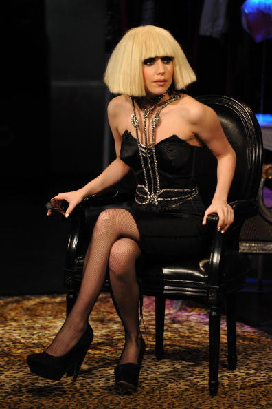 "Hosiery「Lady Gaga Visits fuse TV's ""On The Record""」:写真・画像(15)[壁紙.com]"