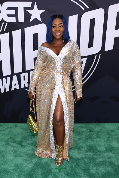Spice「BET Hip Hop Awards 2017 - Arrivals」:写真・画像(16)[壁紙.com]