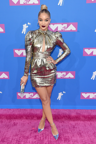 Jasmine Sanders「2018 MTV Video Music Awards - Arrivals」:写真・画像(16)[壁紙.com]