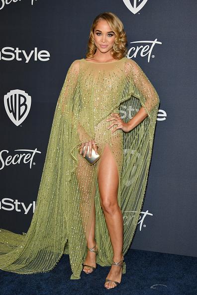 Jasmine Sanders「21st Annual Warner Bros. And InStyle Golden Globe After Party - Arrivals」:写真・画像(2)[壁紙.com]