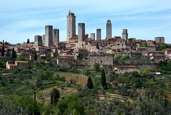 San Gimignano「San Gimignano in Italy, 14th-15th century.」:写真・画像(15)[壁紙.com]