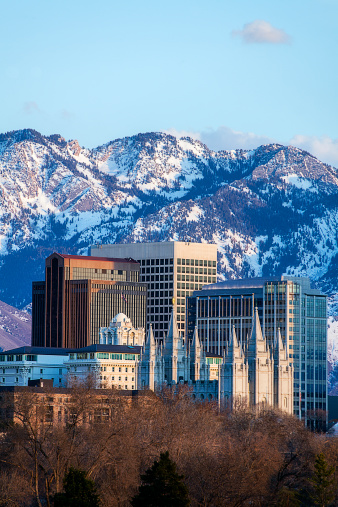 Utah「Salt Lake City skyline located downtown」:スマホ壁紙(19)
