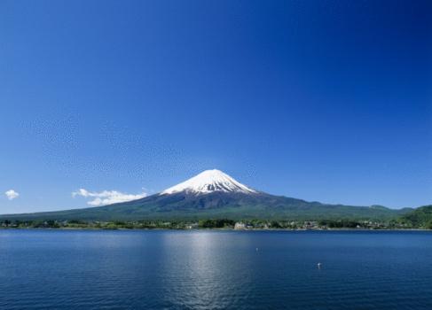 富士山「Mt.Fuji And Lake」:スマホ壁紙(19)