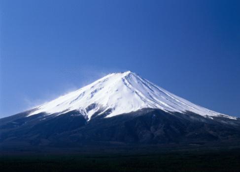 富士山「Mt.Fuji And Blue Sky」:スマホ壁紙(19)